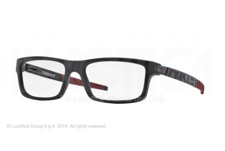 Oakley Frame CURRENCY 0OX8026 802612 SATIN BLACK/CARDINAL RED