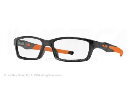 Oakley Frame CROSSLINK 0OX8027 802711 POLISHED BLACK/ORANGE