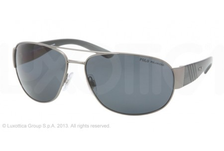 Polo  0PH3052 915781 DARK MATTE GUNMETAL POLARIZED