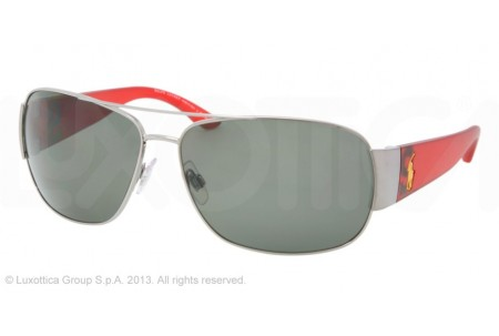 Polo  0PH3063 90029A GUNMETAL BRUSHED POLARIZED