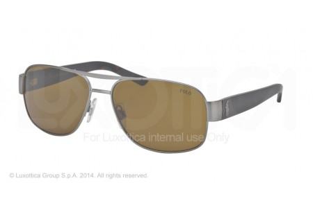 Polo  0PH3080 905073 MATTE BRUSHED GUNMETAL