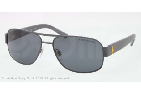 Polo  0PH3080 924481 MATTE DARK GREY POLARIZED