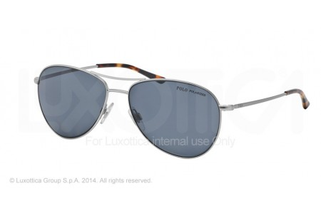 Polo  0PH3084 904681 MATTE SILVER POLARIZED
