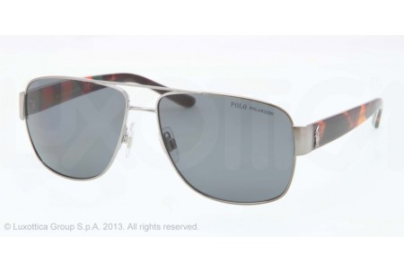 Polo  0PH3085 926181 SHINY GUNMETAL POLARIZED