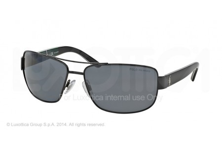 Polo  0PH3087 926781 SEMI SHINY BLACK POLARIZED