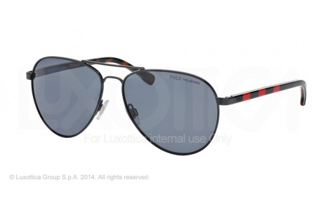 Polo  0PH3090 925881 BLACK POLARIZED