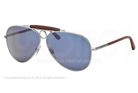 Polo  0PH3091Q 901056 MATTE BRUSCHED SILVER