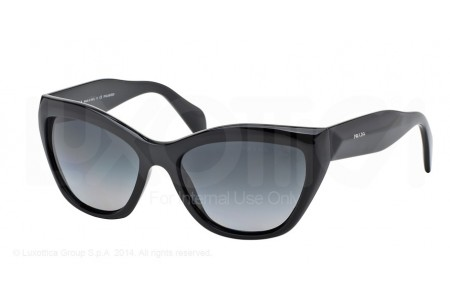 Prada POEME 0PR 02QS 1AB5W1 BLACK POLARIZED