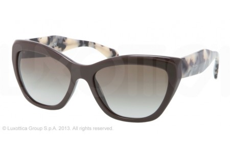 Prada POEME 0PR 02QS DHO4M1 DARK BROWN