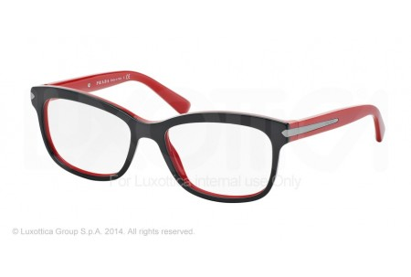 Prada ARROW 0PR 10RV 7I61O1 TOP BLACK/RED