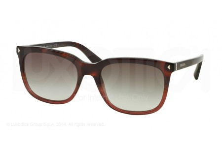 Prada JOURNAL 0PR 12RS TWC0A7 RED HAVANA GRADIENT