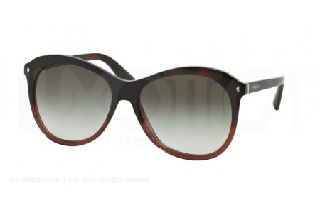 Prada JOURNAL 0PR 13RS TWC0A7 RED HAVANA GRADIENT