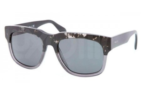 Prada CAST 0PR 14QS RO31A1 SPOTTED BLACK ON MATTE GREY