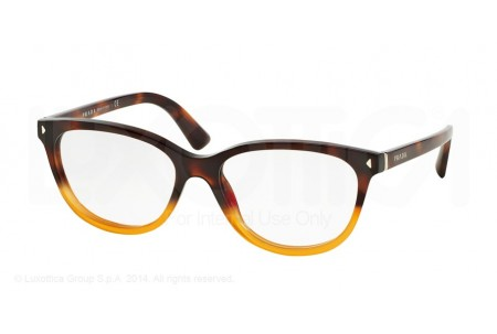 Prada JOURNAL 0PR 14RV TKU1O1 LIGHT HAVANA GRADIENT YELLOW