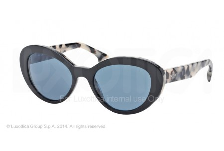 Prada PORTRAIT 0PR 15QS ROK1V1 TOP BLACK/WHITE HAVANA