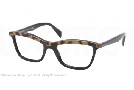 Prada PORTRAIT 0PR 17PV MA51O1 TOP MEDIUM HAVANA/BLACK