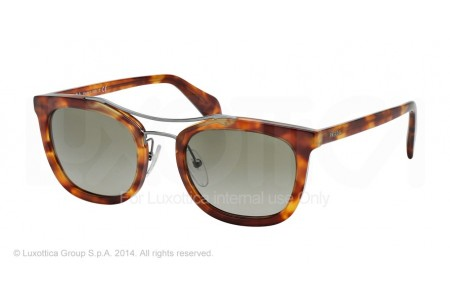 Prada SOCIETY 0PR 17QS 4BW1X1 LIGHT HAVANA