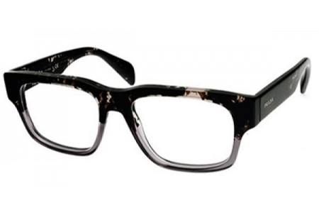 Prada CAST 0PR 19QV RO31O1 SPOTTED BLACK ON MATTE GREY