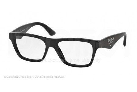 Prada TRIANGLE 0PR 20QV 1AB1O1 BLACK