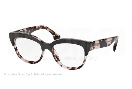 Prada PORTRAIT 0PR 21QV ROL1O1 TOP BROWN/PINK HAVANA