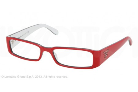 Prada 0PR 22MV KA31O1 0PR 22MV KA01O1 TOP RED/CRAY/WHITE