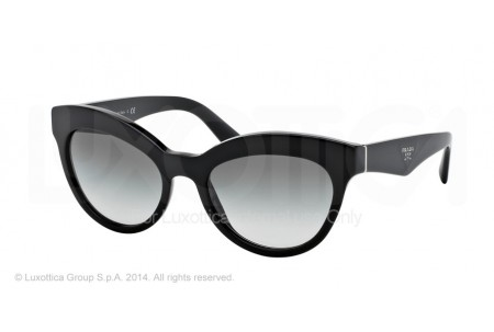 Prada TRIANGLE 0PR 23QS 1AB0A7 BLACK