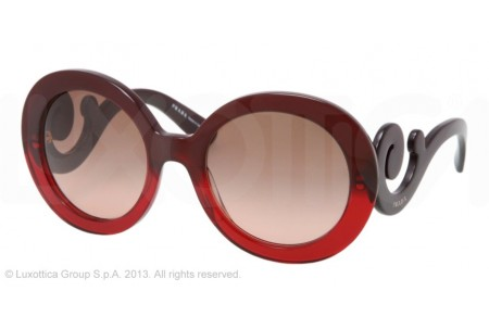 Prada MINIMAL BAROQUE 0PR 27NS MAX0A5 RED GRADIENT
