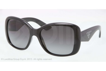 Prada TRIANGLE 0PR 32PS 1AB5W1 BLACK POLARIZED