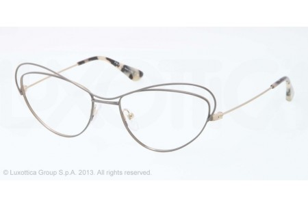 Prada PARALLEL UNIVERSES 0PR 56QV QE51O1 BEIGE/BRUSHED PALE GOLD