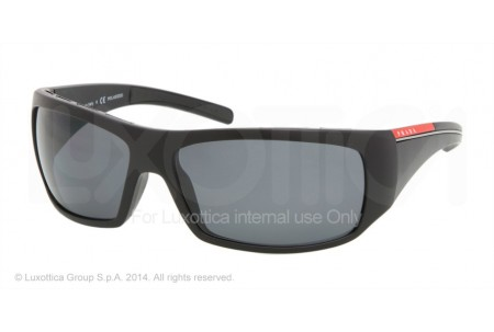 Prada Linea Rossa INTREPID 0PS 01LS 1BO5Z1 BLACK SAND POLARIZED