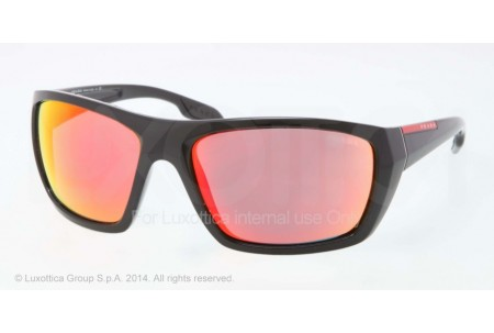 Prada Linea Rossa COURAGEOUS 0PS 01OS 1AB6Y1 BLACK