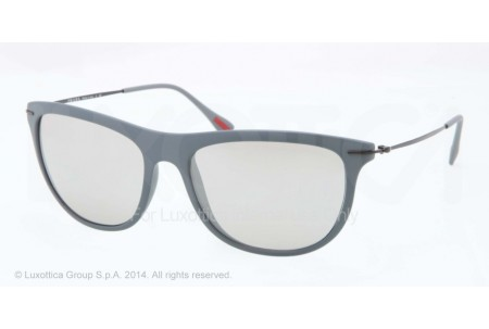 Prada Linea Rossa RED FEATHER 0PS 01PS ROR2B0 DARK GREY RUBBER