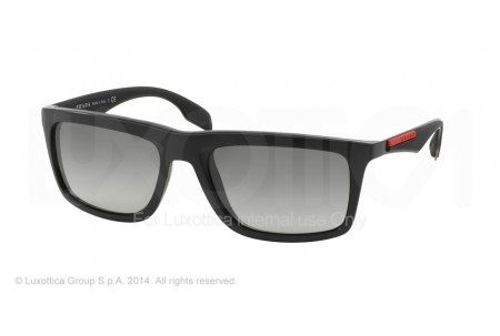 Prada Linea Rossa SLICE 0PS 02PS 1BO3M1 BLACK DEMI SHINY