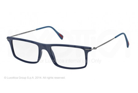 Prada Linea Rossa RED FEATHER 0PS 03EV TFY1O1 BLUE RUBBER