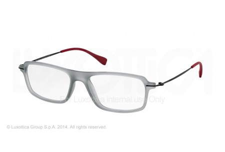 Prada Linea Rossa RED FEATHER 0PS 03FV TIL1O1 TRASP GREY RUBBER