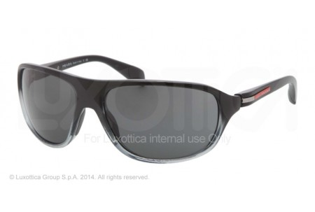 Prada Linea Rossa PS 06NS (64) 0PS 06NS GAI1A1 BLACK DEMI SHINY/GREY TR