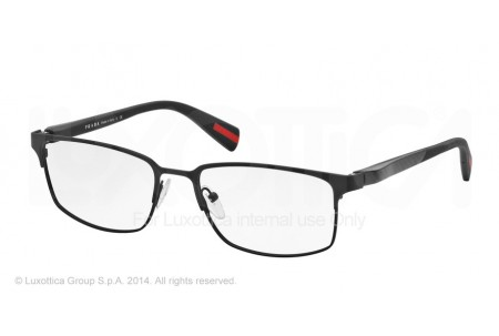 Prada Linea Rossa NETEX 0PS 50FV DG01O1 BLACK RUBBER