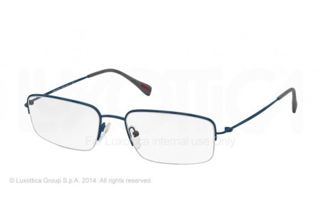Prada Linea Rossa RED FEATHER 0PS 51FV TFY1O1 BLUE RUBBER