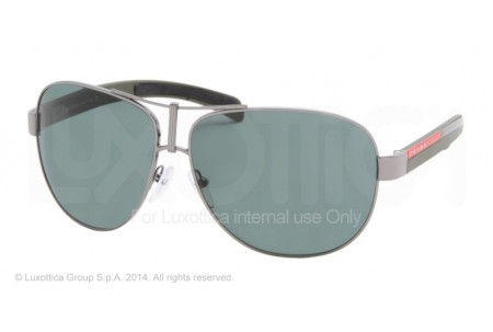 Prada Linea Rossa  0PS 51IS 5AV3O1 GUNMETAL