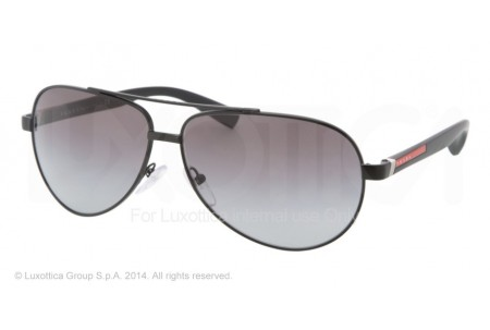 Prada Linea Rossa BARNBURNER 0PS 51NS 1BO3M1 BLACK DEMI SHINY