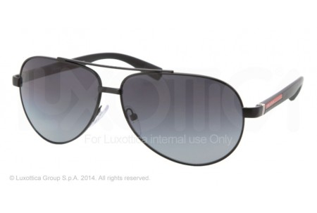 Prada Linea Rossa BARNBURNER 0PS 51NS 1BO5W1 BLACK DEMI SHINY POLARIZED