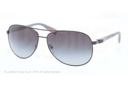 Prada Linea Rossa NETEX COLLECTION 0PS 51OS 7AX5W1 BLACK POLARIZED