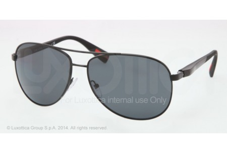 Prada Linea Rossa NETEX COLLECTION 0PS 51OS 1BO5Z1 DEMI-SHINY BLACK POLARIZED