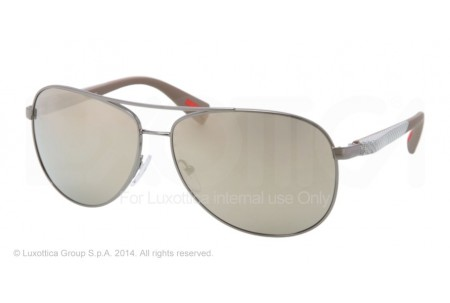 Prada Linea Rossa NETEX COLLECTION 0PS 51OS 5AV1C0 GUNMETAL