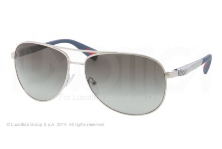 Prada Linea Rossa NETEX COLLECTION 0PS 51OS 1BC3M1 SILVER