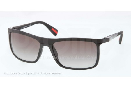 Prada Linea Rossa NETEX COLLECTION 0PS 51PS 1BO0A7 BLACK DEMI SHINY