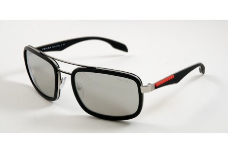 Prada Linea Rossa SLICE 0PS 52PS 1BO2B0 BLACK RUBBER