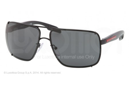 Prada Linea Rossa  0PS 53OS 1BO1A1 BLACK DEMI SHINY