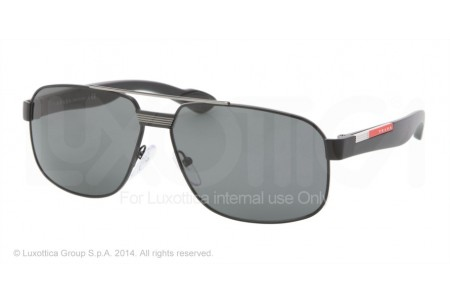 Prada Linea Rossa PS 54MS 59 0PS 54MS 1BO1A1 BLACK DEMI SHINY