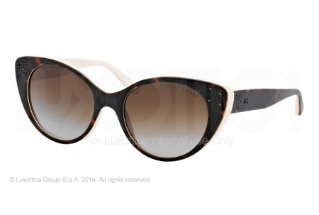 Ralph Lauren  0RL8110 5451T5 TOP DARK HAVANA/CREAM POLARIZED